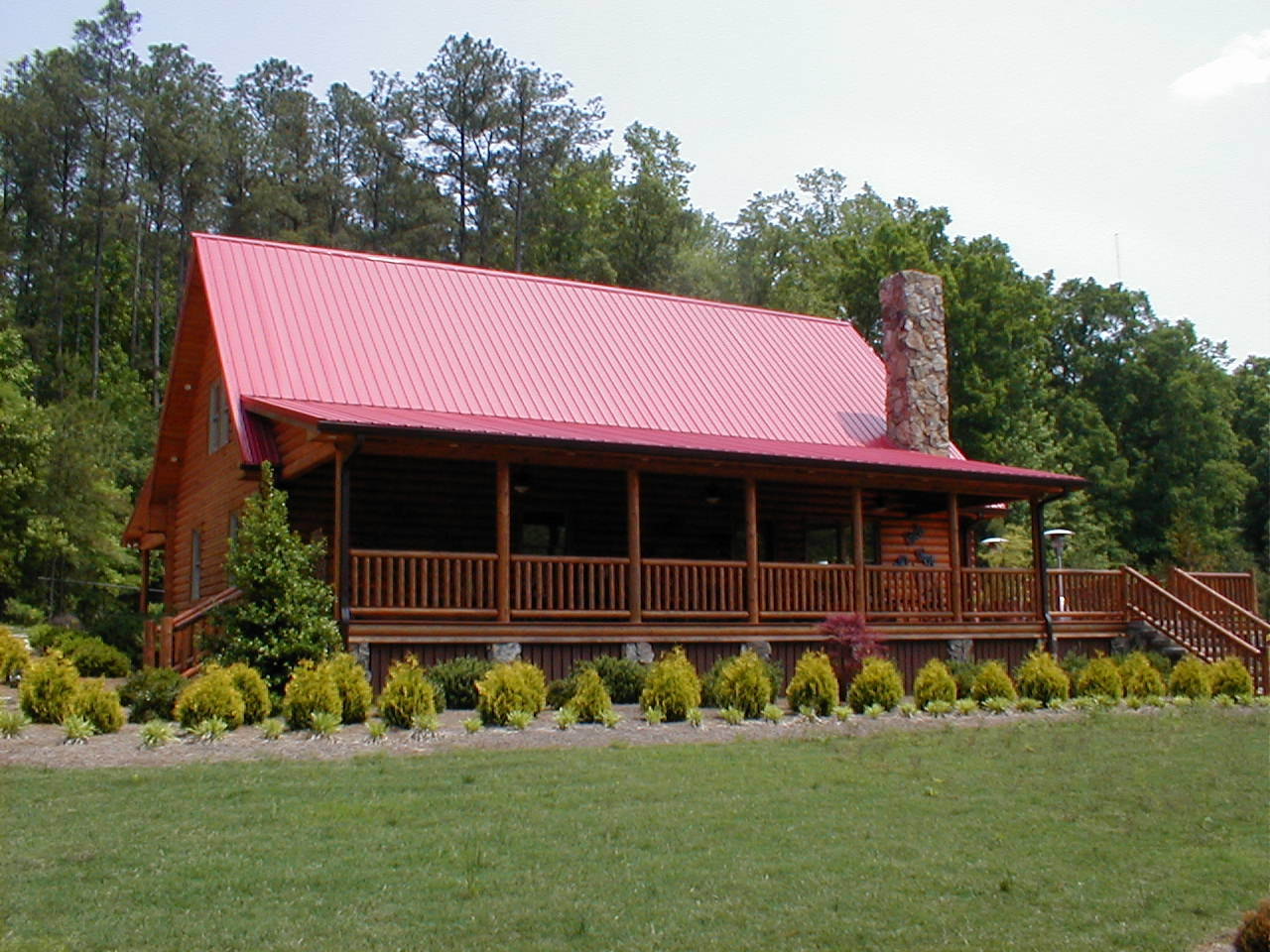 Custom A Frame Log Homes In North Carolina And Virginia