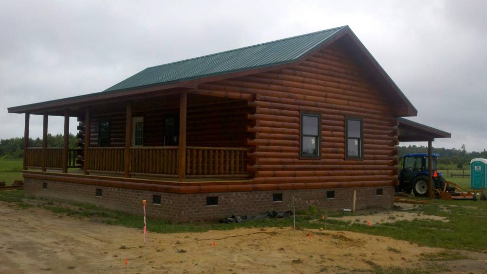 Vacation and hunting cabins for sale nc va for Vacation log homes
