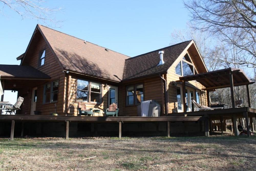 Custom Log Cabin Builder Nc Va