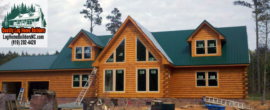 Log home builders in fayetteville nc home review for Building a house in nc
